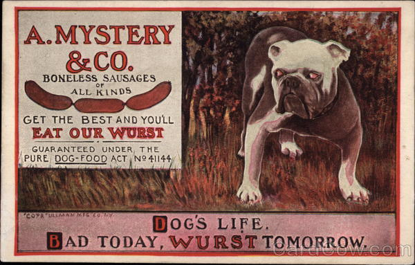 A Mystery & Co Advertising