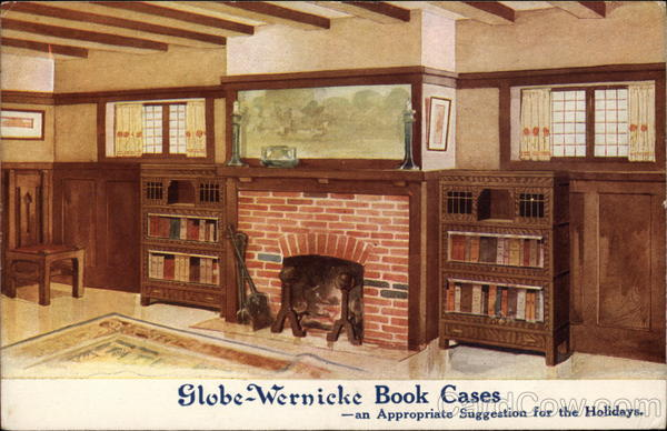 Globe-Wernicke Book Cases Advertising