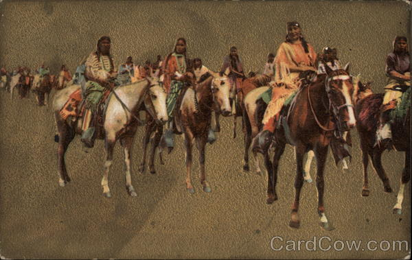 Native Americans on Horseback Native Americana