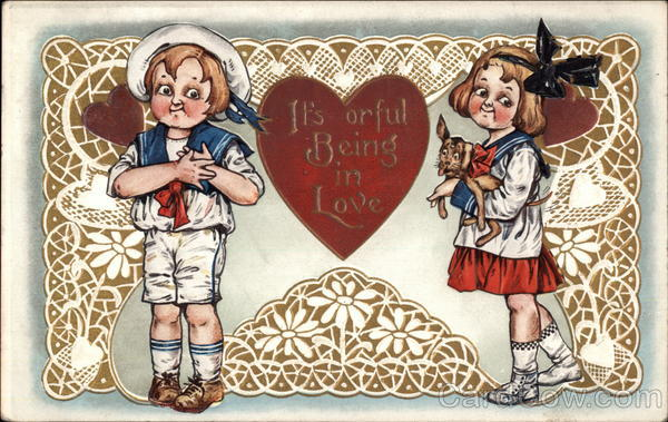 It's Orful Being In Love - Boy and Girl in Sailor Suits