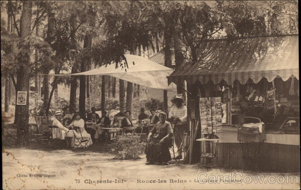 Charente-Inf - Postcard Display Rack France Post Card Clubs & Collecting