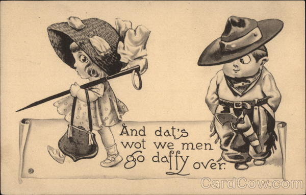 And Dat's What We Men Go Daffy Over Children