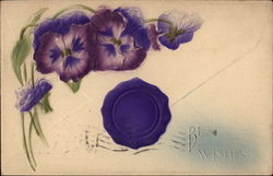 Best Wishes - Pansies