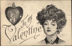 To My Valentine - Woman with Heart