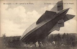 The Zeppelin L-49 - Captured by the French