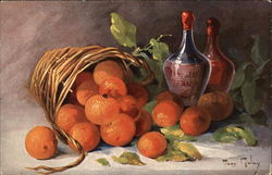 Still Life of Oranges and Wine