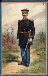 Lieutenant of Artillery, US Army