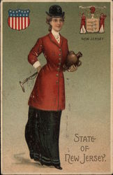Girl in Riding Gear - State of New Jersey