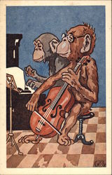 Monkeys Playing Instruments