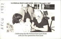 National Post Card Week, May 3-9, 1987