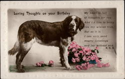 Loving Thoughts on Your Birthday Postcard