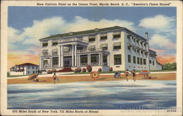 Beach Front Hotel In Myrtle Beach Sc