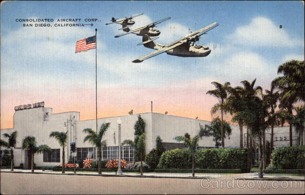 Consolidated Aircraft Corp San Diego California