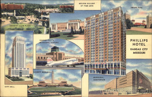 Phillips Hotel Kansas City Missouri