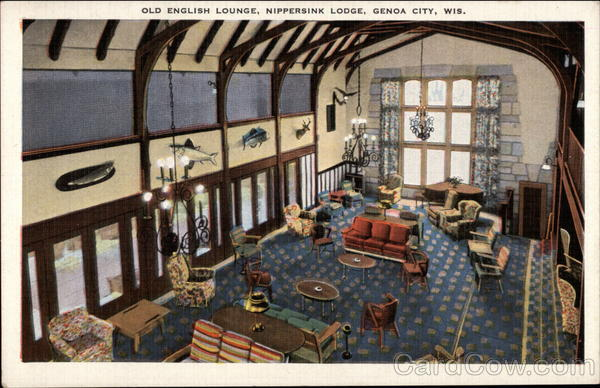 Old English Lounge Nippersink Lodge Genoa City Wi