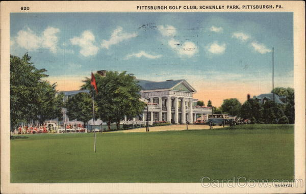 Pittsburgh Golf Club, Schenley Park Pennsylvania