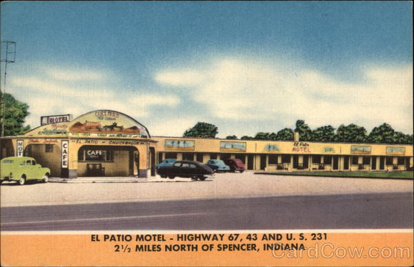 el patio motel spencer indiana