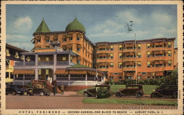 Hotel Fenimore Asbury Park New Jersey
