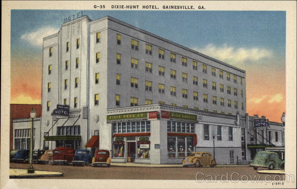 Dixie-Hunt Hotel Gainesville Georgia