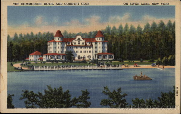 The Commodore Hotel And Country Club Swan Lake Ny