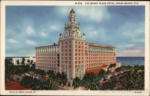The Roney Plaza Hotel