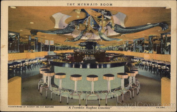 The Mermaid Room, Park Central Hotel New York City