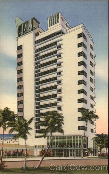 Shelborne Hotel In Miami Beach Fl Sold