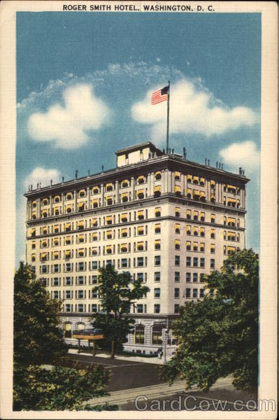 Roger Smith Hotel Washington District of Columbia