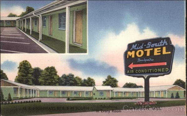 Mid-South Motel Jackson Mississippi