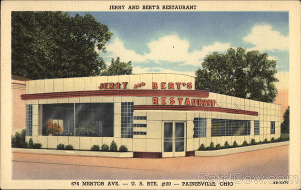 Jerry and Bert's Restaurant Painesville Ohio