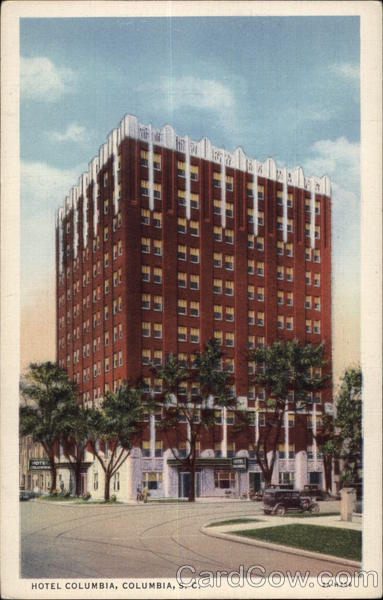 Hotel Columbia, Columbia's Newest and Finest South Carolina
