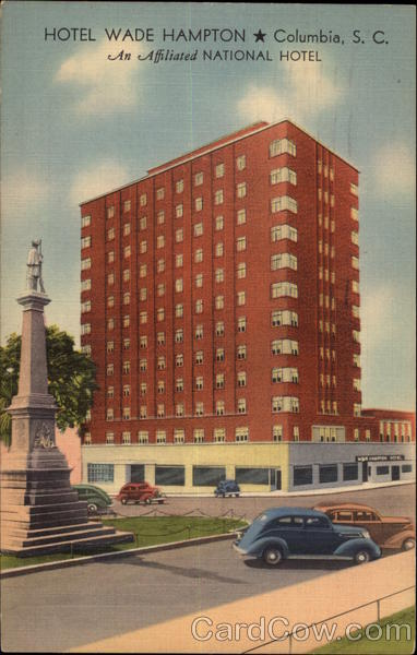 Hotel Wade Hampton Columbia South Carolina