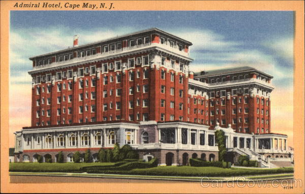 Admiral Hotel Cape May New Jersey