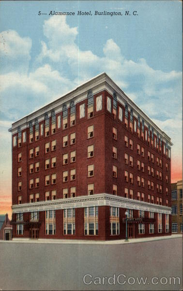 Alamance Hotel Burlington North Carolina