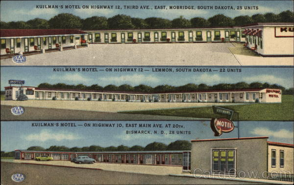 Kuilman's Motel Mobridge South Dakota