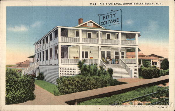 Kitty Cottage Wrightsville Beach North Carolina