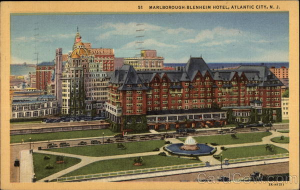 Marlborough Blenheim Hotel Atlantic City Nj