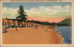 Camp-Of-The-Woods on Lake Pleasant; Adirondack Mts