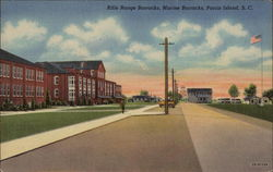 Rifle Range Barracks, Marine Barracks