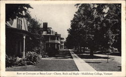 Middlebury College - Row of Cottages at Bread Loaf