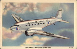 Eastern Air Lines' Douglas in Flight