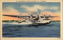 Pan-American Clipper, Baltimore, MD to Bermuda