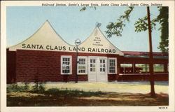 Rail Road Station, Santa's Large Train, Santa Claus Land