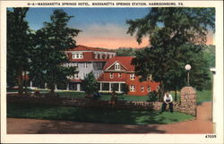 Massanetta Springs Hotel, Massanetta Springs Station