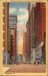 Wood Street Showing Keystone Hotel and Y.M.C.A