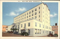Dixie Hunt Hotel Postcard