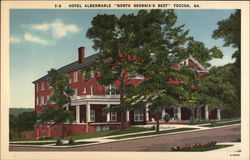 "Hotel Albermarle ""North Georgia's Best"""