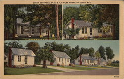 Cocoa Cottages Postcard