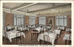 Dining Room, Jefferson Hotel