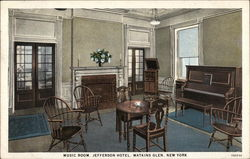 Music Room, Jefferson Hotel